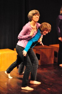 "Cintra and Colleen play a ""Pair"", two feelings in tension"